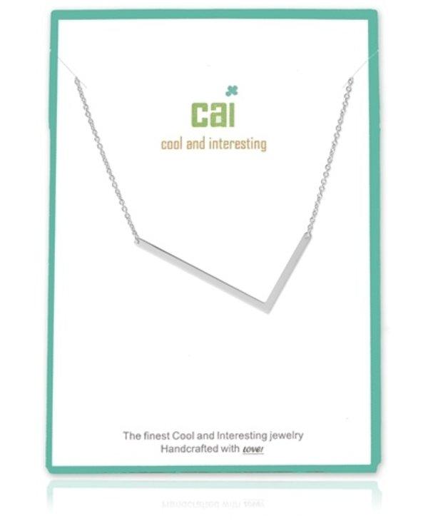 Medium Initial L Necklace