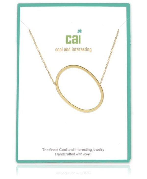 Medium Initial O Necklace