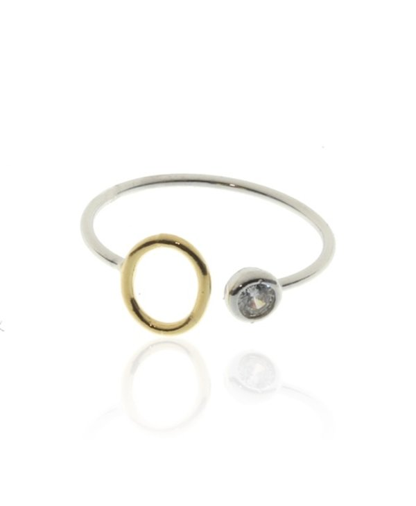 Two Tone Initial O Ring