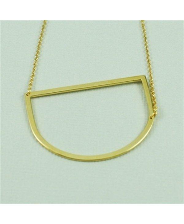 Large Initial D Necklace
