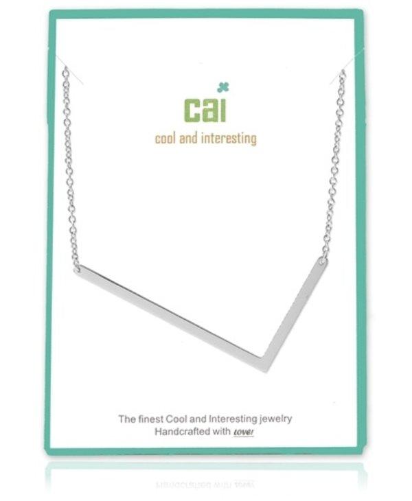 Large Initial L Necklace