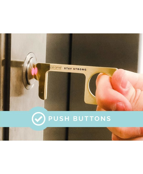 Don't Touch That! Keychain in Men's