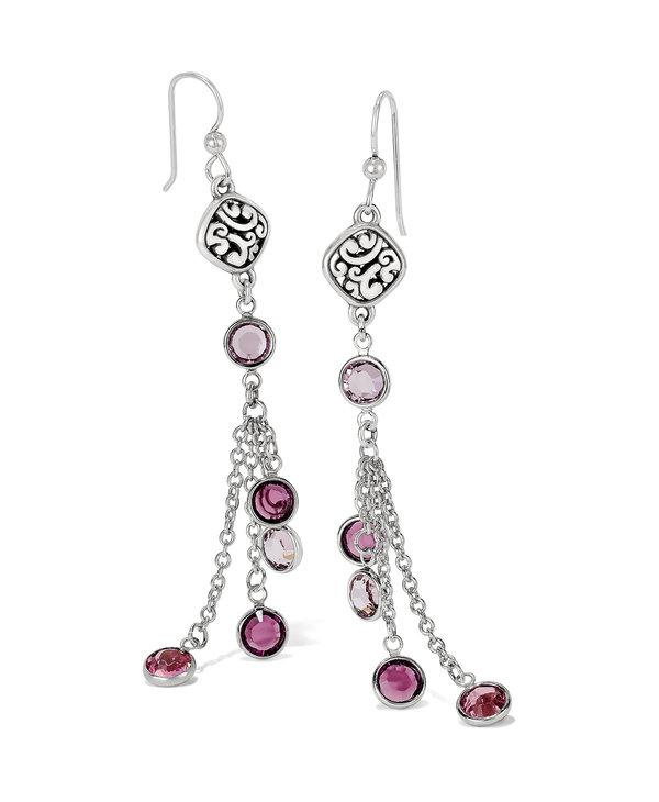Elora Gems French Wire Earrings in Blush