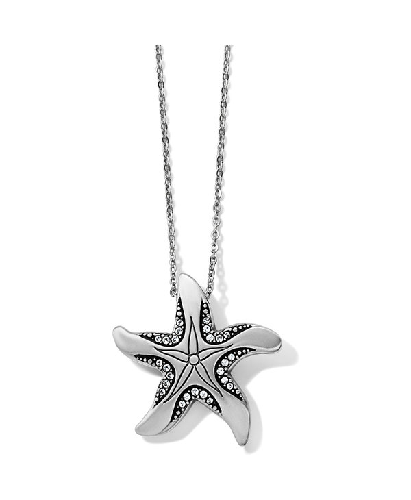 Trust Your Journey Reversible Starfish Necklace
