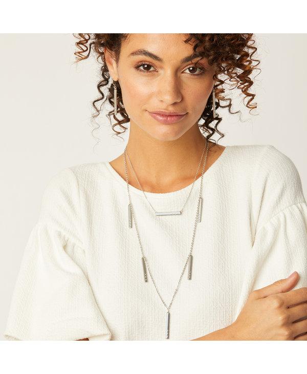 London Groove Mini Bar Reversible Necklace