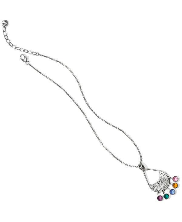 Elora Gems Drops Necklace