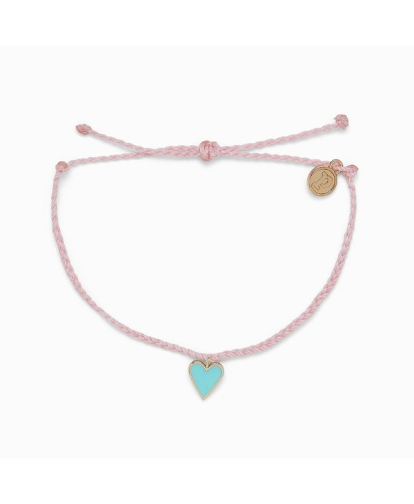 Petite Heart Charm Bracelet