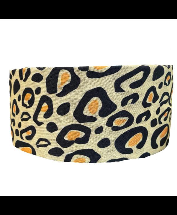 Leopard Tube Turban