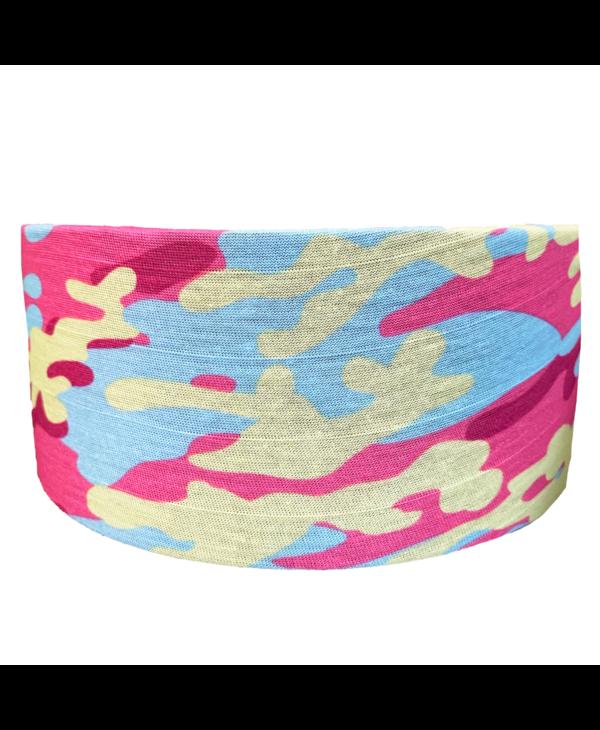 Pink Camo Tube Turban