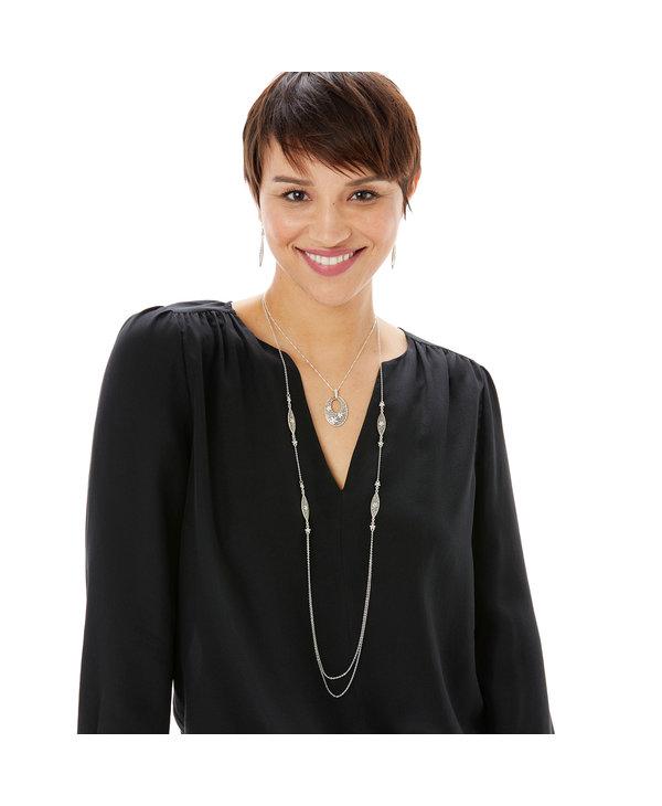 Baroness Fiori Long Necklace