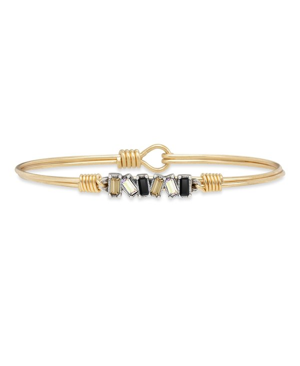 Mini Hudson Bangle Bracelet Luxe Ombre in Gold