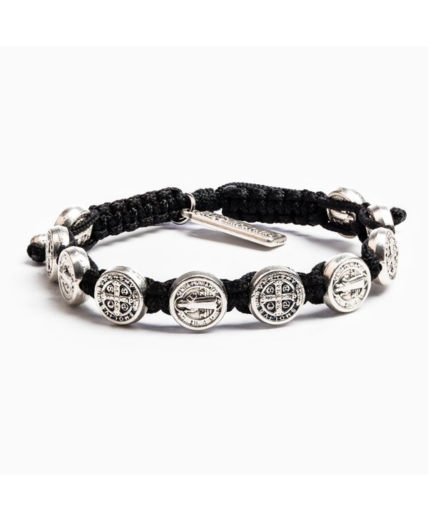 Benedictine Blessing Bracelet in Black