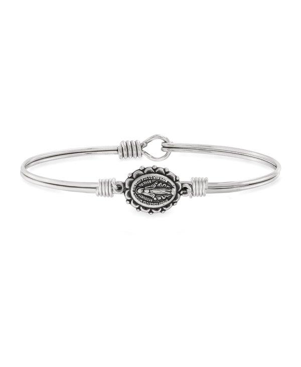 Miraculous Bangle Bracelet in Silver