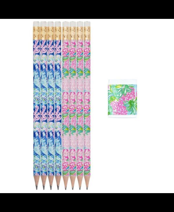 Pencil & Eraser Set