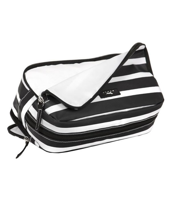 3- Way Toiletry Bag in Fleetwood Black