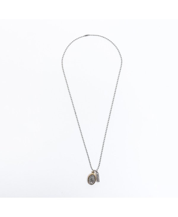 Miraculous Mary Bead Ball Necklace