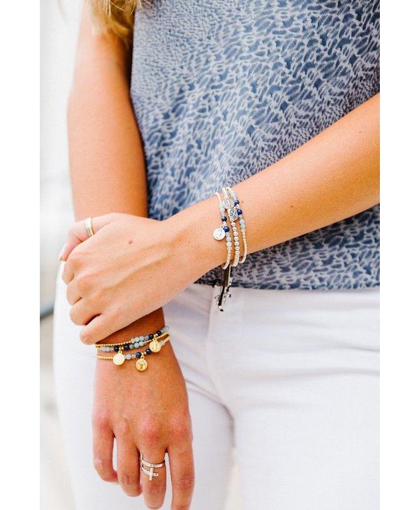 Family Virtues Bracelet in Silver