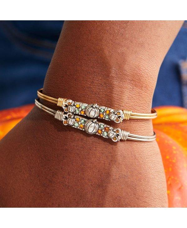 Pumpkin Medley Bangle Bracelet in Gold