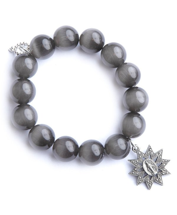 Blessed Mother Bracelet with Sparkle