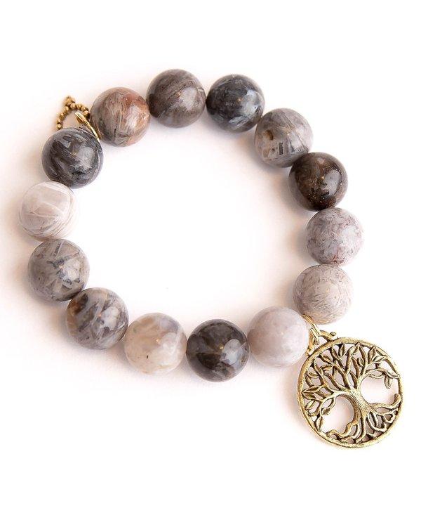 Open Vein Tree of Life Bracelet