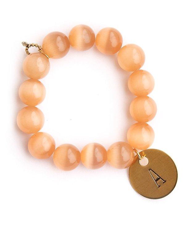 Initial A Bracelet