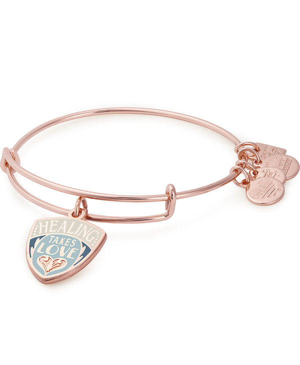 Charity By Design Healing Takes Love Charm Bangle
