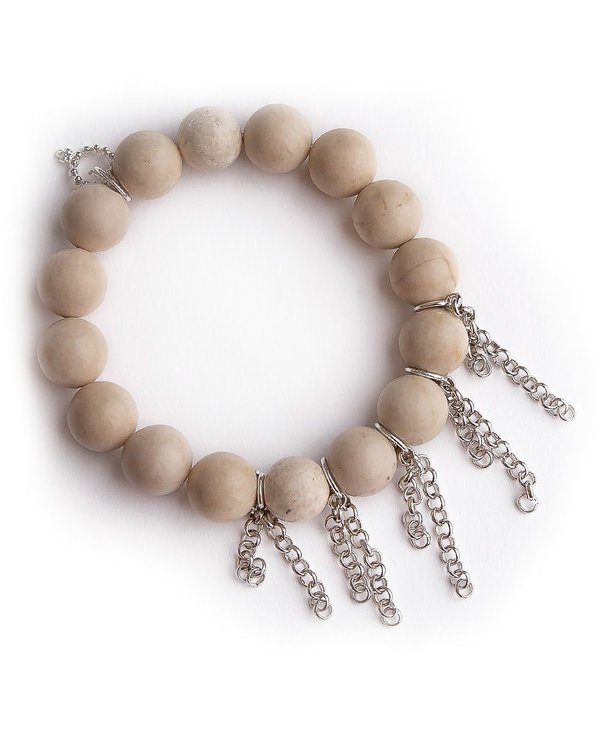 Fringe Bracelet in Silver