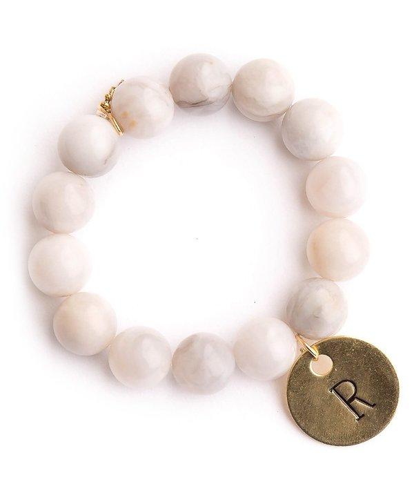 Initial R Bracelet