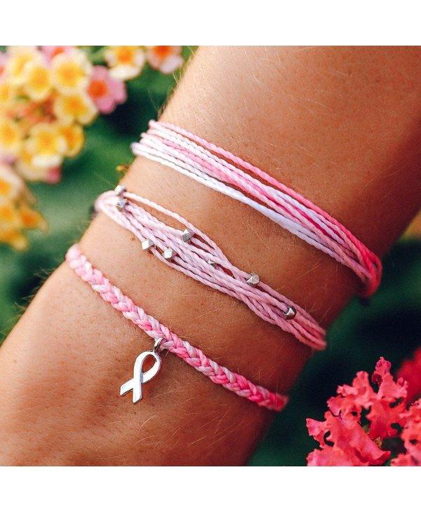 Breast Cancer Awareness Pack Set of 3 Bracelets