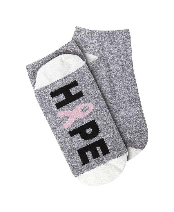 "Breast Cancer ""Hope"" Low Cut Sock"