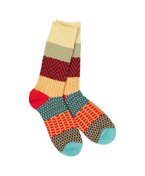 Gallery Crew Sock in Fiesta