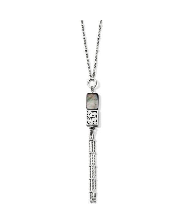 Contempo Shell Tassel Necklace