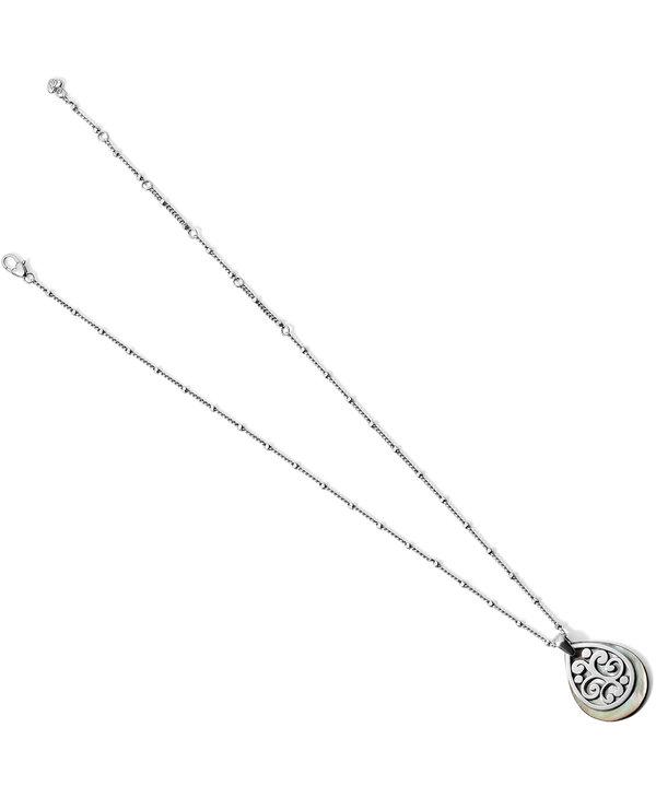 Contempo Shell Teardrop Necklace