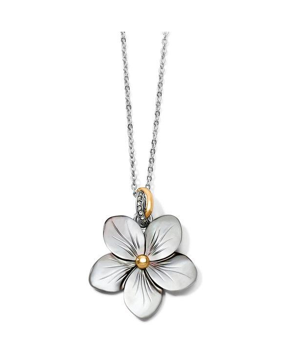 Neptune's Rings Shell Flower Necklace