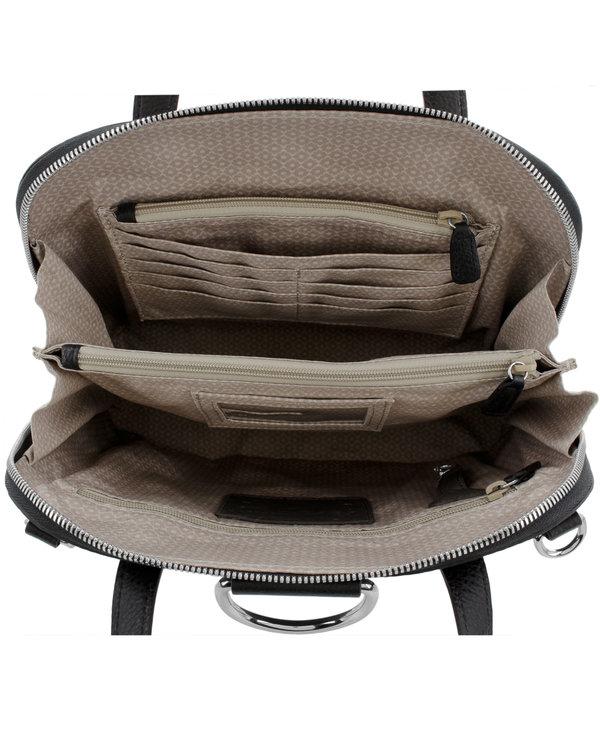 Miles Convertible Backpack in Black
