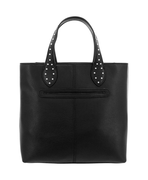 Johnny Tall Convertible Tote in Black