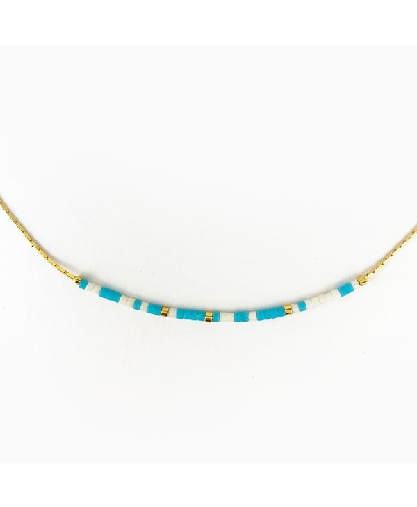 Peace Be With You Morse Code Necklace