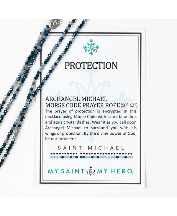 St. Michael Morse Code Prayer Rope