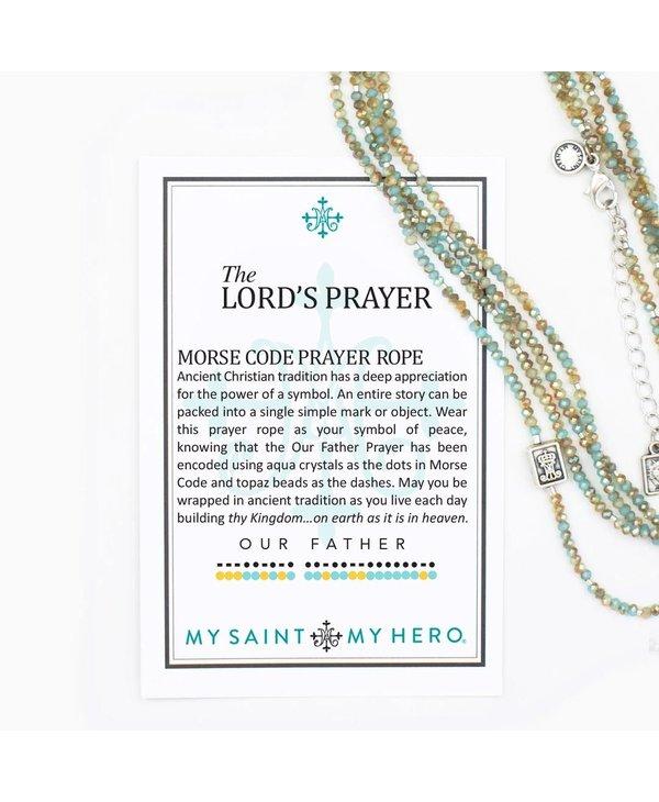 The Lord's Prayer Morse Code Prayer Rope