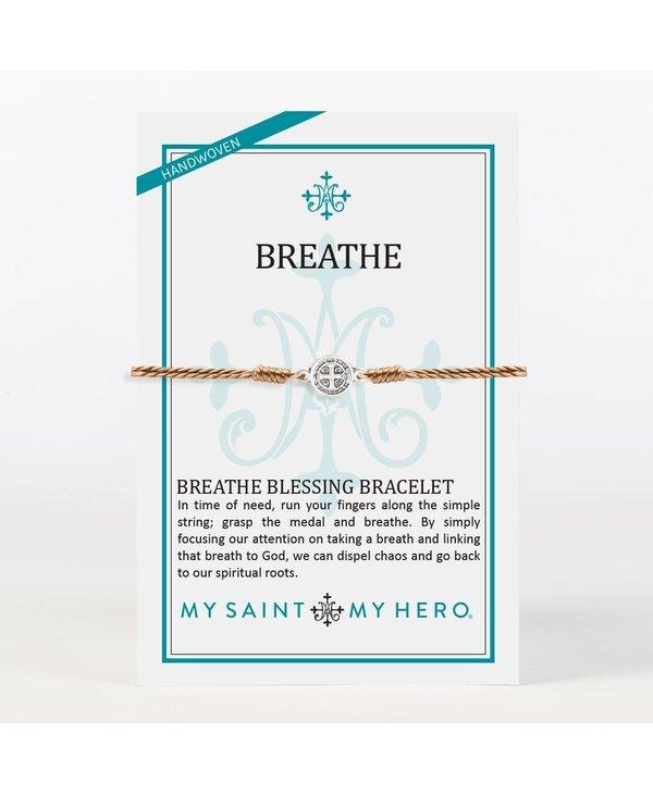 Breathe Bracelet in Taupe