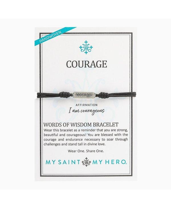 """Courage"" Words of Wisdom Bracelet"