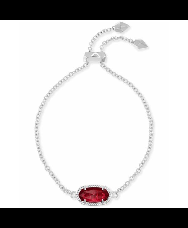 Elaina Adjustable Chain Bracelet in Berry