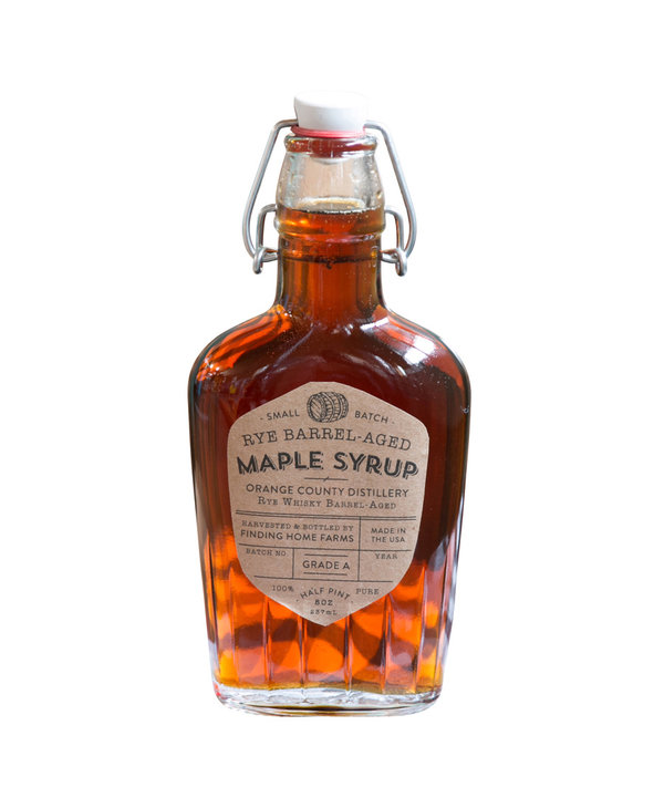 Rye Barrel Aged Maple Syrup