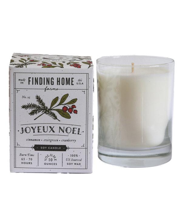 Joyeux Noel Boxed Candle
