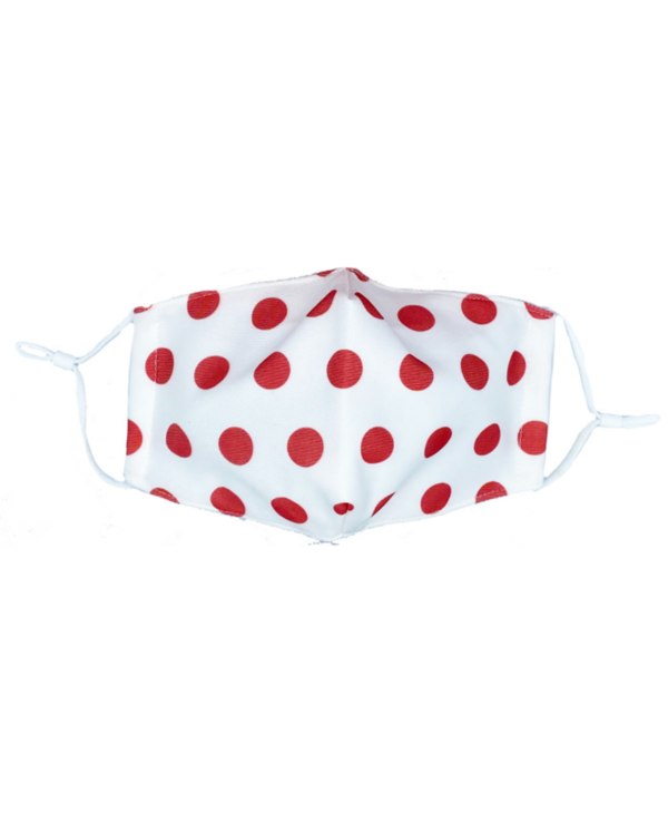 Red Polka Dot Mask