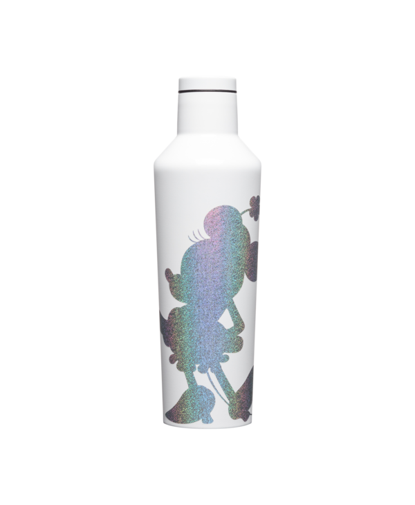 16oz Canteen in Minnie Silhouette Sparkle