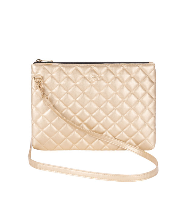 Abby in Quilted Gold