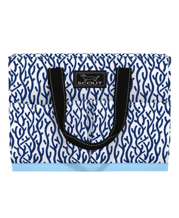 Uptown Girl Pocket Tote Bag in Cays Of Our Lives