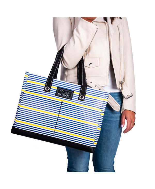 Uptown Girl Pocket Tote Bag in Sun Rays