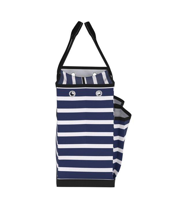 The BJ Pocket Tote Bag in Nantucket Navy